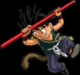 Dragon Ball - kid Goku 25 by superjmanplay2