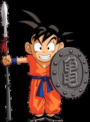 Dragon Ball - kid Goku 26 by superjmanplay2