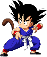 Dragon Ball - kid Goku 28 by superjmanplay2