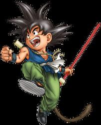 Dragon Ball - kid Goku 29 by superjmanplay2
