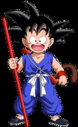 kid Goku 50