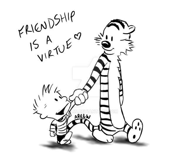 Friendship virtue and good friends