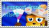 Drunk ottsels stamp by Kiwi-ingenuity123