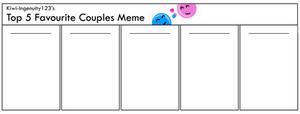 Favourite Couples Meme