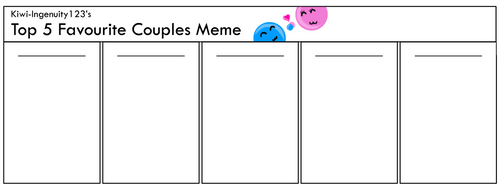 Favourite Couples Meme by Kiwi-ingenuity123