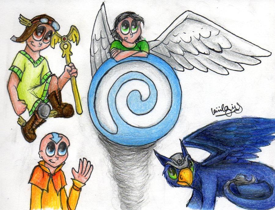 Skylanders Wind Element Symbols
