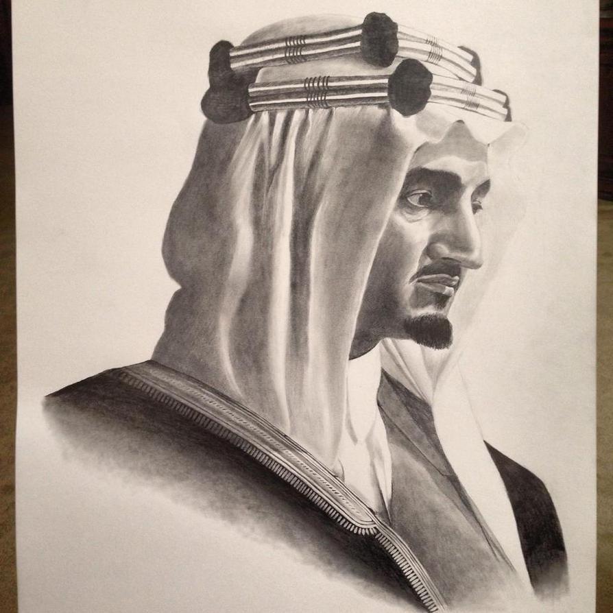 Young King Faisal by Raadalsharif