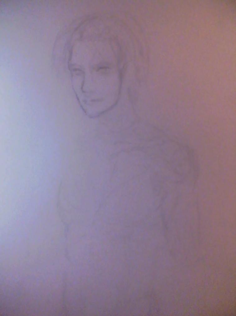 Kenshin Sketch by WorldAngel