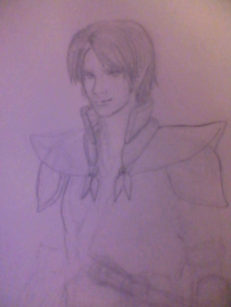 Kenshin Sketch 0.1 by WorldAngel