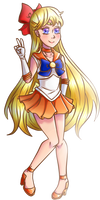 ::Magical Girl Index:: Sailor Venus by superSAKURA64