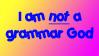 Grammar God Stamp by lonehowler