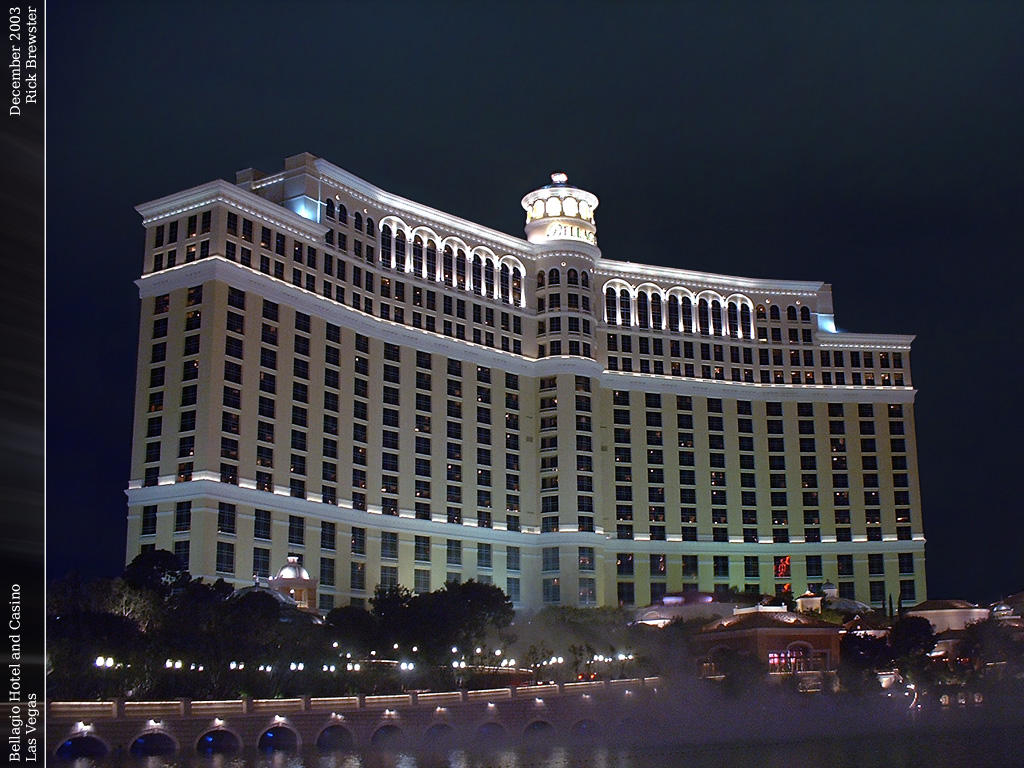 Bellagio Hotel and Casino by skizatch