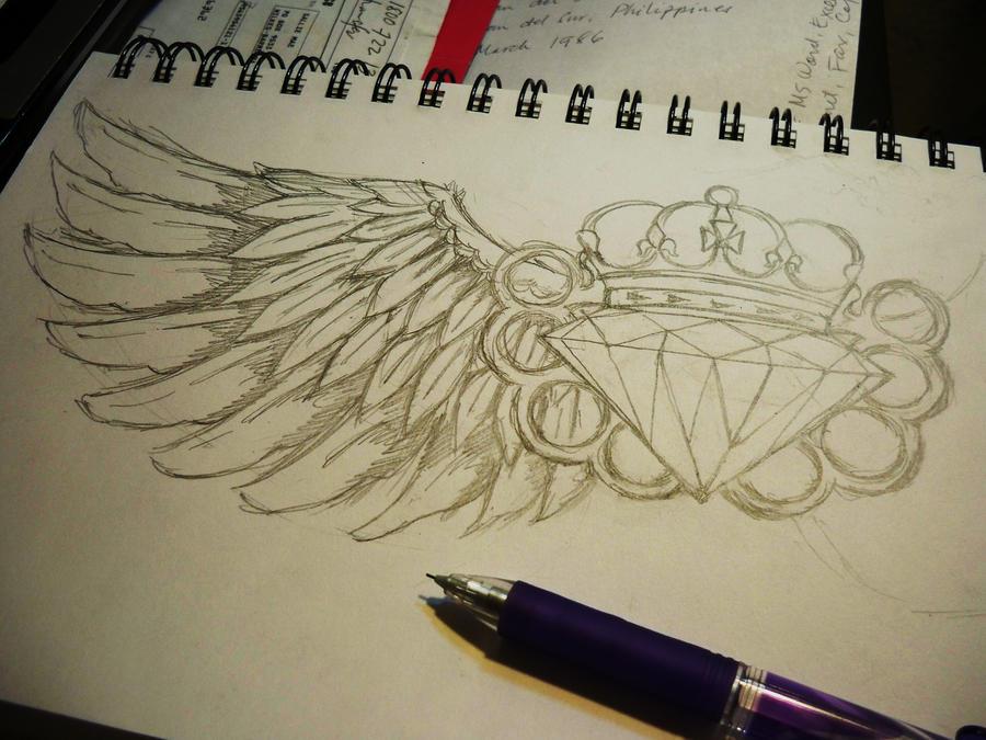 Diamond Wings by MIDICR0NICA on DeviantArt