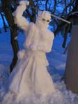 Snow Scupture Auron: FFX