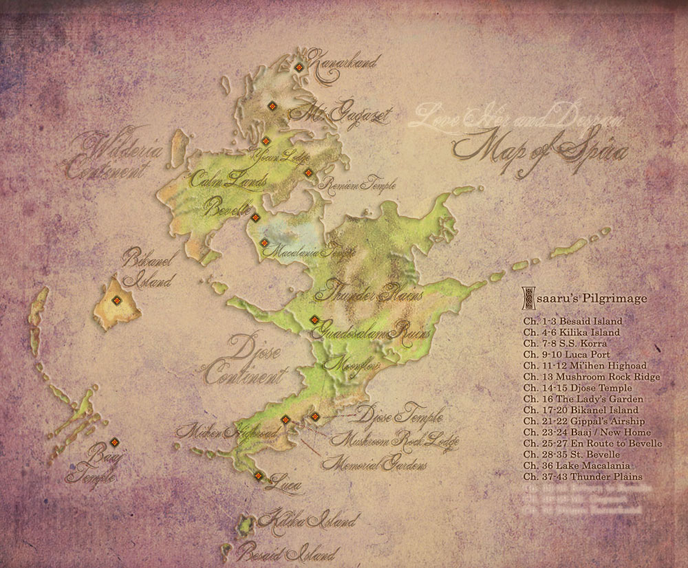 FFX Map of Spira for LHaD