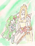 Rydia and Rosa, Final Fantasy IV
