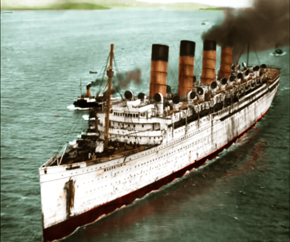Rms Olympic: Farewell To The Queen Of Cunard By RMS-OLYMPIC On DeviantART