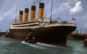 The Last Voyage by RMS-OLYMPIC