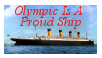 Olympic is a Proud Ship- Stamp by RMS-OLYMPIC