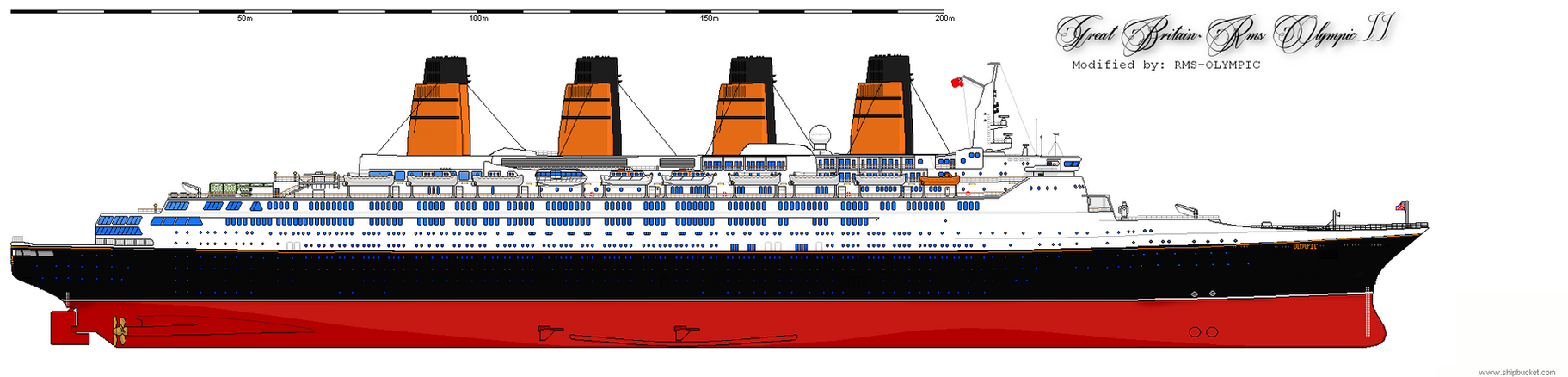 RMS Olympic II By RMS OLYMPIC On DeviantArt