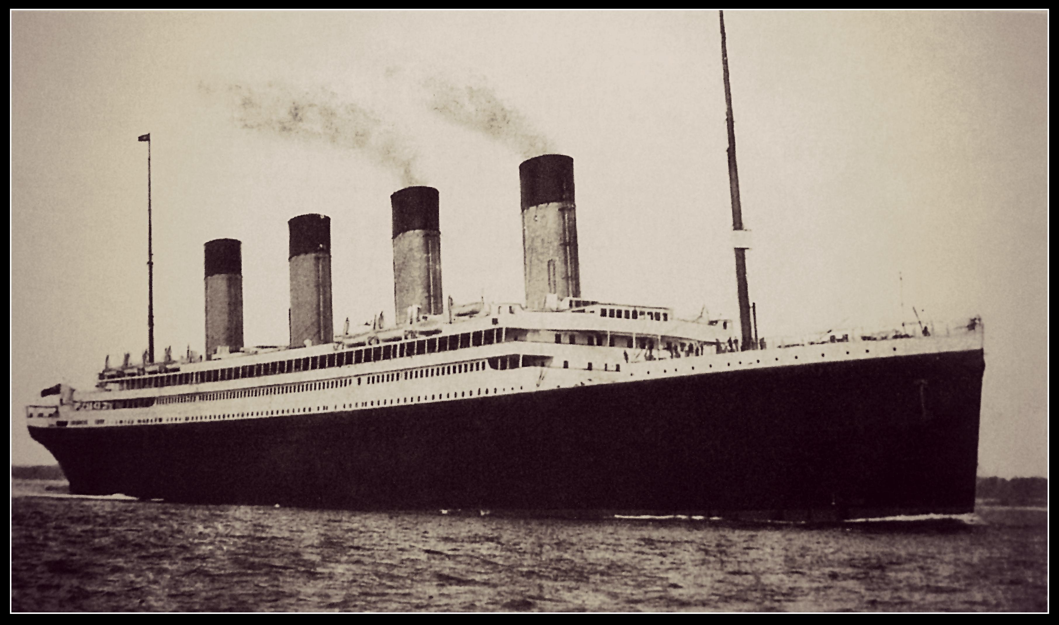 Shine on the Titanic