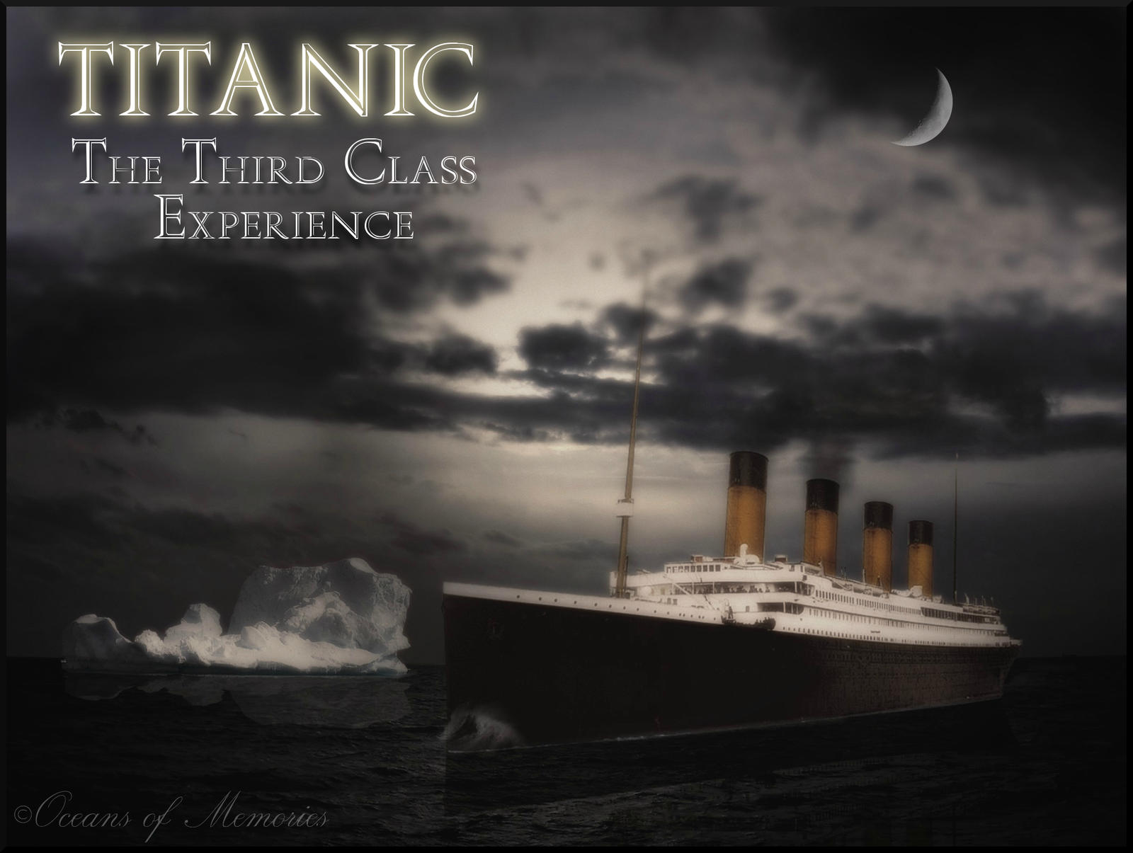 Titanic The Third Class Experience Film Poster By Rms
