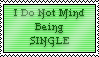I Don't Mind Being Single - Stamp by RMS-OLYMPIC