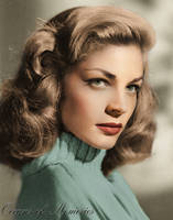 Lauren Bacall by RMS-OLYMPIC