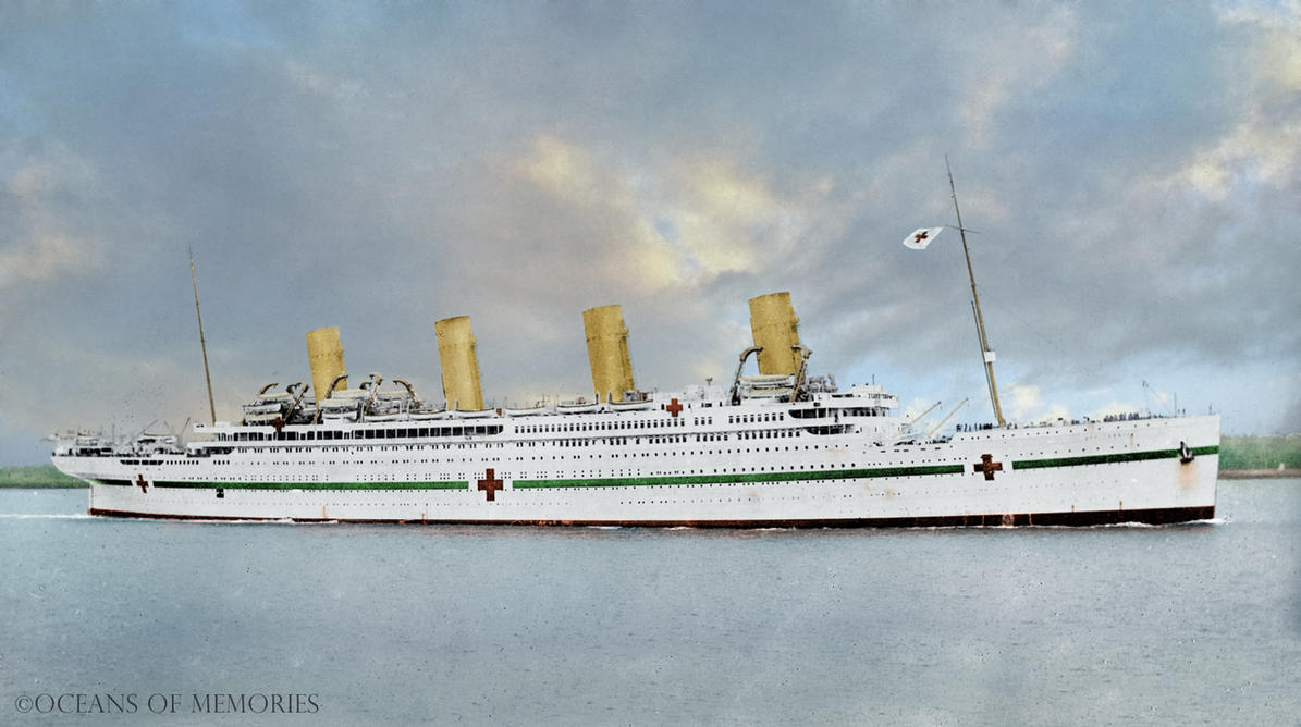 Hmhs Britannic Television Special By Rms Olympic On