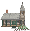 Victorian Home - Pixel Art by RMS-OLYMPIC
