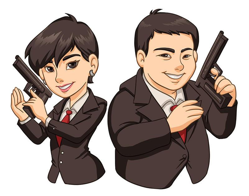Secret Agent by Norm27