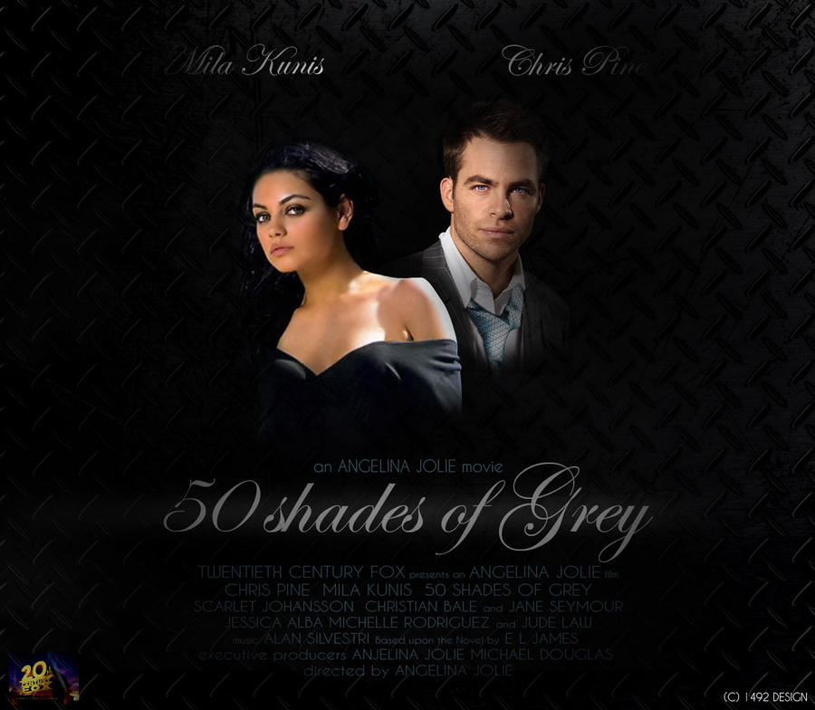 50 shades of grey movie by 1492andiblair on deviantart for What kind of movie is fifty shades of grey