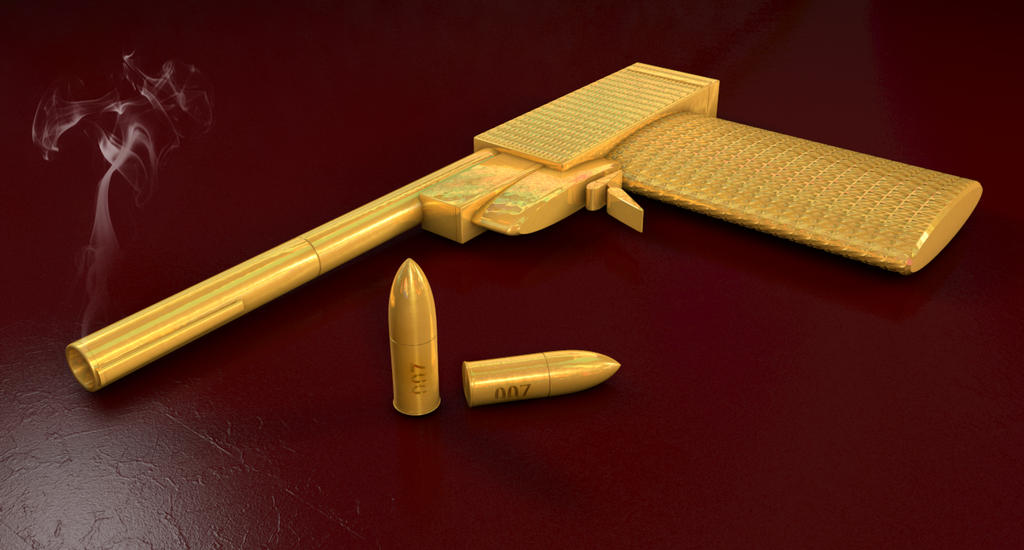 The Man With The Golden Gun by 1492ANDIBLAIR