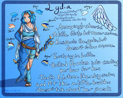 Wings of Blue - OC Reference