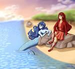 Commission - Sunset Sea Breeze