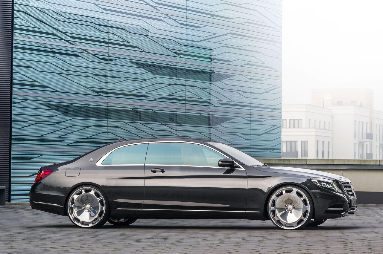 Mercedes 2016 maybach s600 coupe on 24 inch wheels by for Mercedes benz s600 coupe