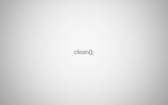 Relaxing Clean Wallpaper