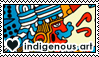 Indigenous art 2 by DoctorFluffy