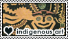 Indigenous art 3 by DoctorFluffy