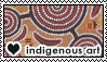Indigenous art 4 by DoctorFluffy