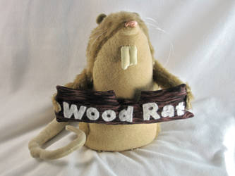 Wood Rat Plush 1 by boomplush