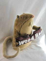 Wood Rat Plush 2 by boomplush