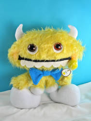 Lemonhead Candy Monster by boomplush