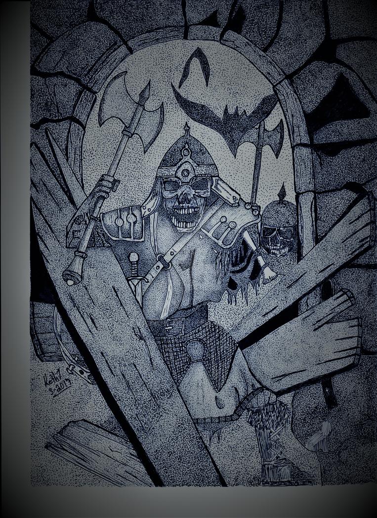 Alternate version of Dreadful TIdings by Evilnok