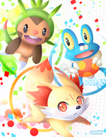 Pokemon XY PARTY by Mayuiki