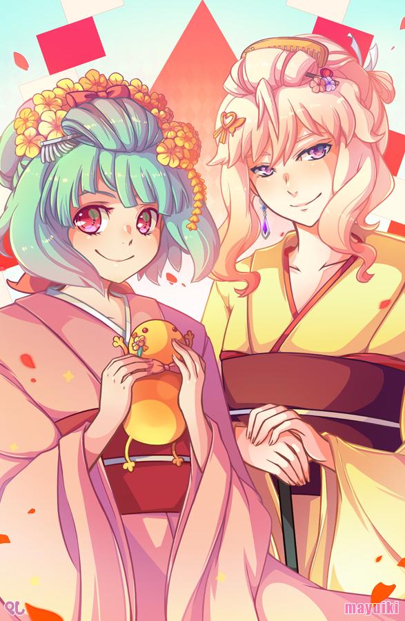 Ranka + Sheryl by Mayuiki