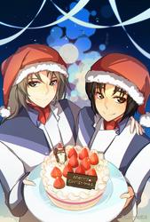 Fafner Christmas by Mayuiki