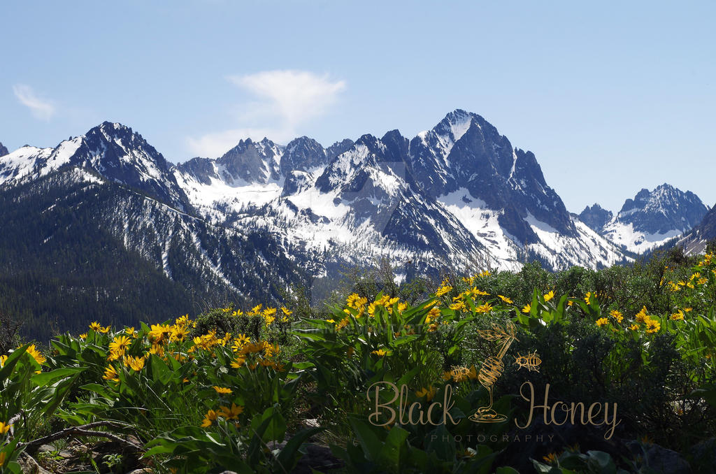 Sawtooths in the Spring by Samtian