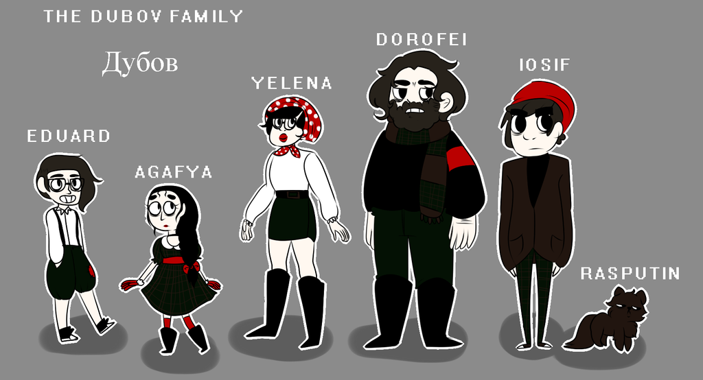 THE DUBOV FAMILY by Puudii