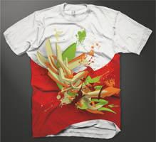 Exploding Shirt by Shyne1